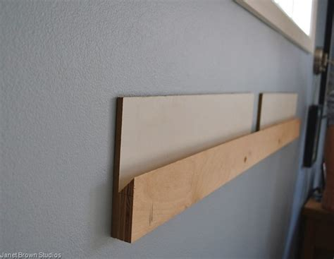 how to hang a headboard on a wall a do it yourself headboard janet s house