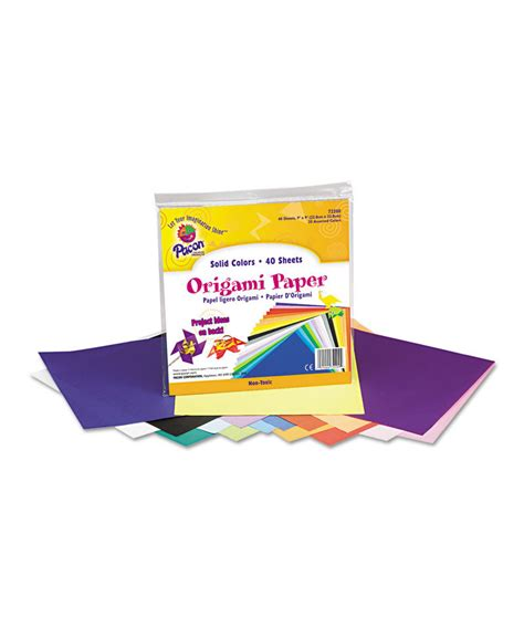 origami paper  lbs    assorted bright colors
