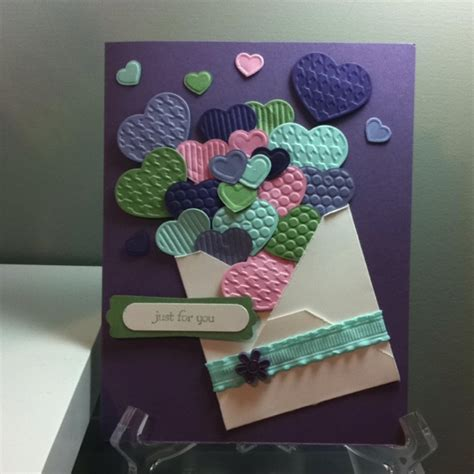 joyful stin the fashionable hearts 71 best cards fashionable hearts embosslits images on