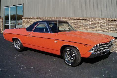 el camino orange 1969 chevrolet el camino ss pickup 23866