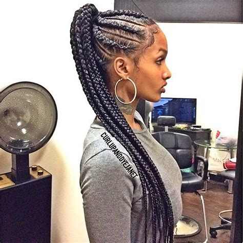 cornrow hairstyles for black women with part in the middle model hairstyles for cute cornrow hairstyles best ideas