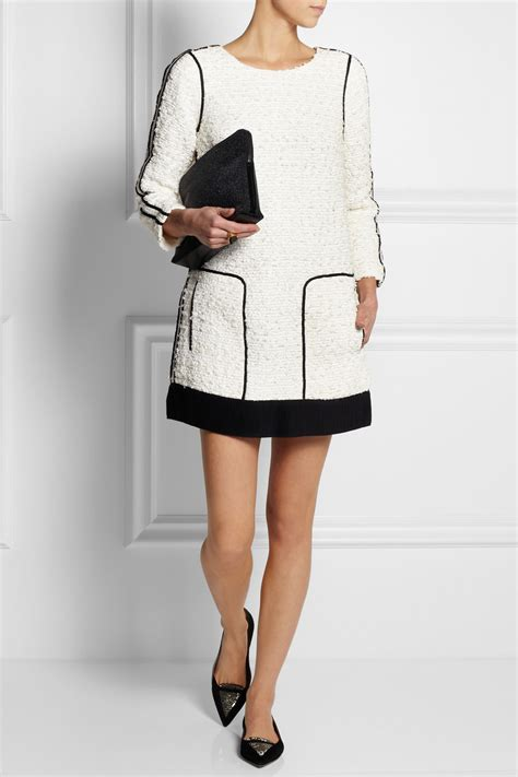 J Crew City Carrie Minibag by J Crew Collection Snow Tweed Dress In White Lyst