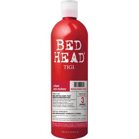 bed head resurrection shoo tigi bed head urban antidotes resurrection shoo 750ml
