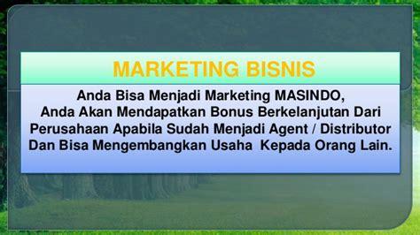 Teh Gaharu Pendaftaran Distributor marketing plan masindo