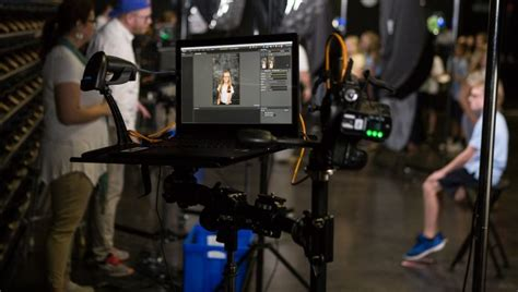 sports photography workflow plugging in tether tools