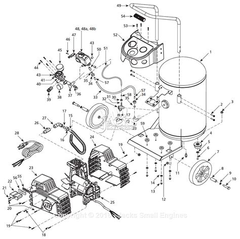 compressor parts diagram 28 images cbell hausfeld