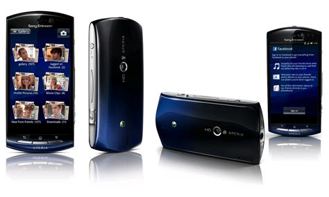 Hp Sony Xperia Neo V For Sony Ericsson Xperia Neo V Blue Gradient Expansys
