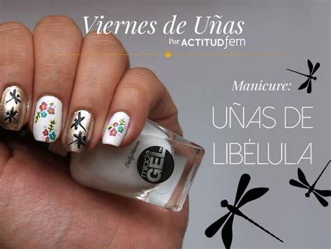 imagenes de uñas normales decoradas lib 233 lulas en tus u 241 as tutorial soyactitud