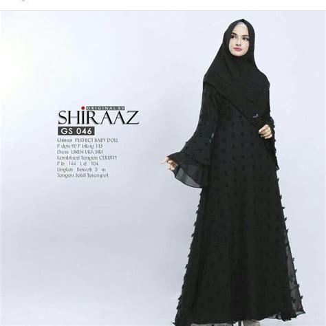 Baju Muslim Baju Murah Baju Wanita Baju Dress Fathiya Dress grosir baju muslim murah shiraz dress grosir baju muslim