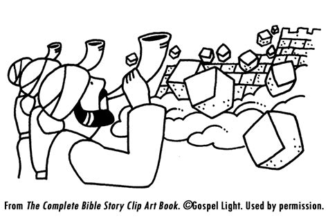 coloring pages for joshua and the battle of jericho joshua and the walls of jericho coloring page az