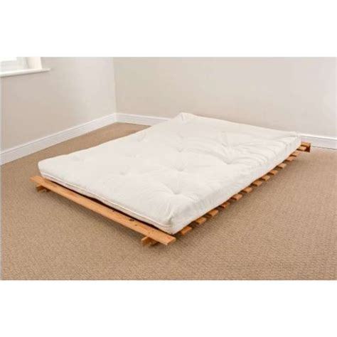 Futon Mattress Filling by Luxury Filled Mattress 4ft 6 Futon Set