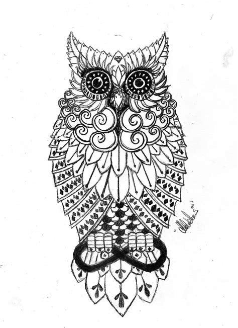 pattern tattoo designs owl tattoos designs ideas and meaning tattoos for you