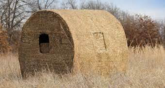 Build A Ground Blind Building A Diy Bale Blind Can Be As Easy As You Want It To Be