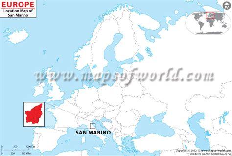san marino on world map where is san marino location of san marino