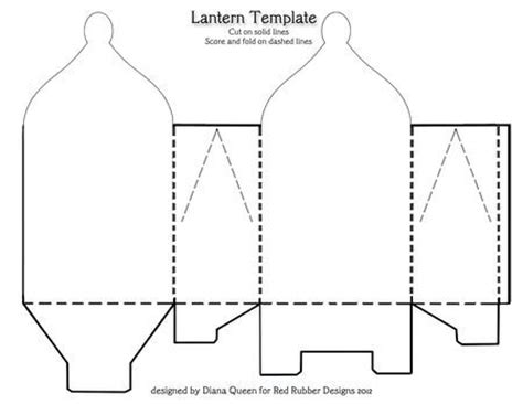 Paper Lantern Craft Template - 17 best images about projekte on cakes