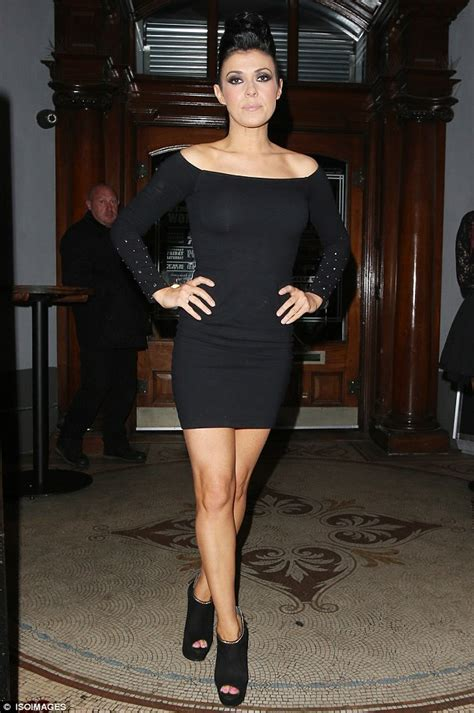 kym marsh new hair2014 kym marsh steps out on towering heels for night with