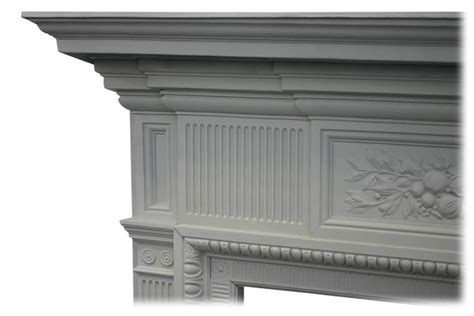 Cast Iron Fireplace Paint by 19th Century Painted Cast Iron Fireplace Surround For Sale At 1stdibs