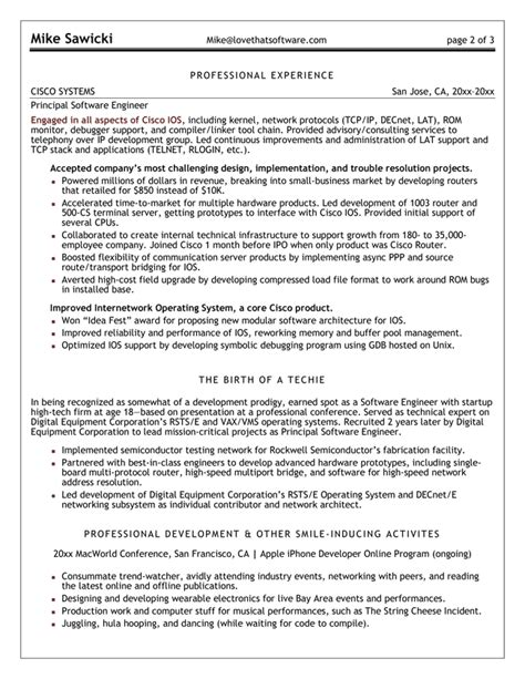 100  Sample Resume For Software Engineer With 2 Years