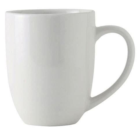 Porcelain Coffee Mugs tuxton bpm 200a duratux 20 oz bright white milano china