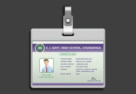 school id card design template 29 customizable id card templates free premium