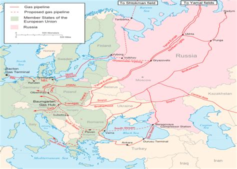 russia europe pipeline map a caspian perspective implications of the south s