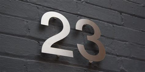 design house numbers uk modern house numbers stainless steel house numbers