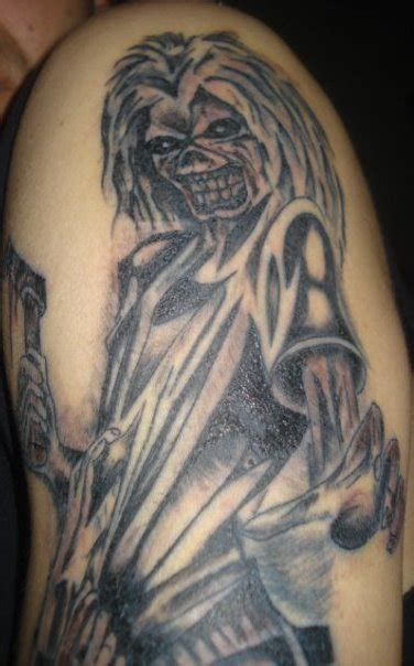 eddie tattoo the gallery for gt eddie iron maiden