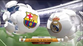 fifa 14 fc barcelona vs real madrid