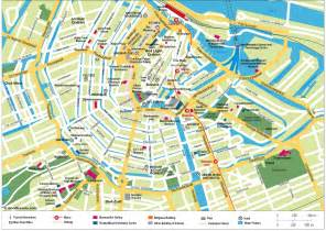netherlands map map of amsterdam the netherlands