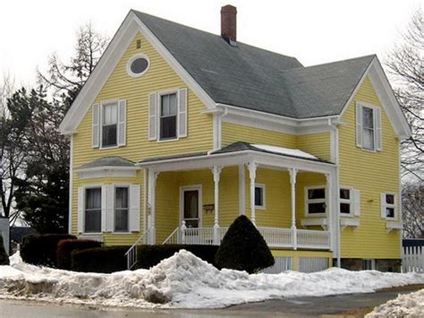 Yellow Home by House Painting Ideas Exterior Photos For Yellow House 2013