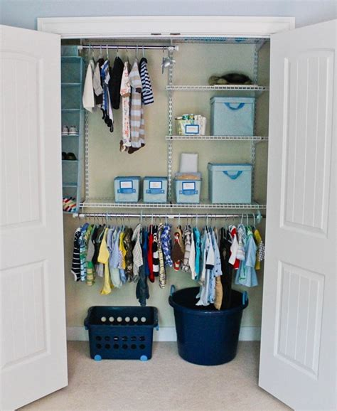 how to organize nursery closet nesting not just for the birds my sweetnest