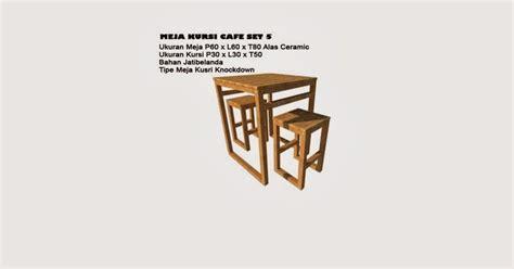 Kursi Kafe Kursi Kedak Kura Minimalis meja kursi cafe set 5 alas ceramic gratis ongkos kirim pusat distributor jual kayu