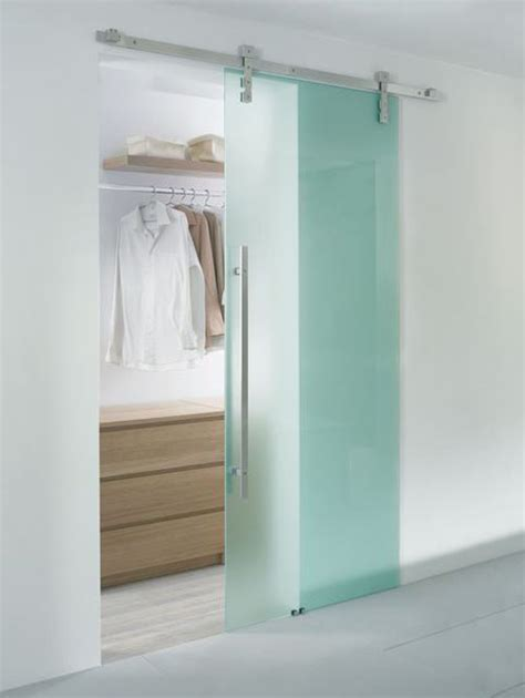Fixing Bifold Closet Doors Boost The Look Of Your House With Glass Sliding Doors Homes Design