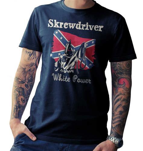 Power White Shirt t shirt skrewdriver white power 2