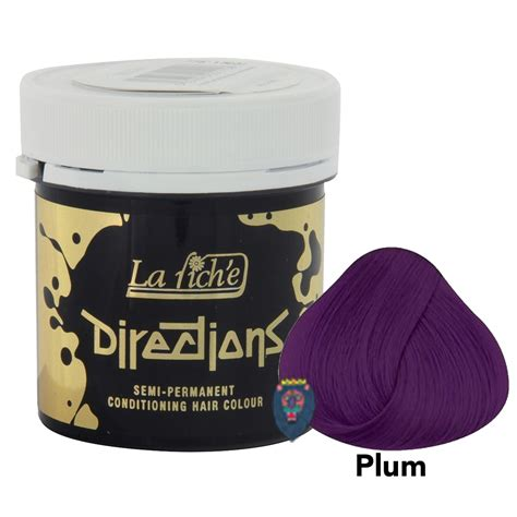 ready stock la riche directions semi permanent directions la riche semi permanent hair dye colour plum