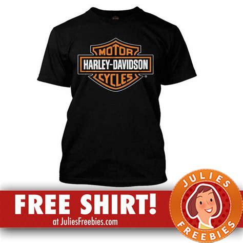 Tshirt Hurley Davidson free harley davidson t shirt julie s freebies