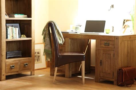 quercus solid oak furniture range home office furniture