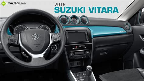 suzuki interior 2015 suzuki vitara interior