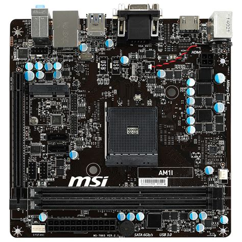 Msi Am1i Am1 msi releases am1 socketed kabini mini itx am1i motherboard techpowerup forums