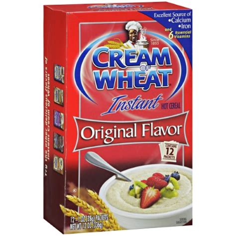 Instant Cereal Flavour of wheat instant cereal original flavor 12 oz jet