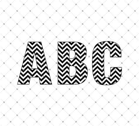 chevron pattern font free download svg cut files for cricut and silhouette font bundle svg