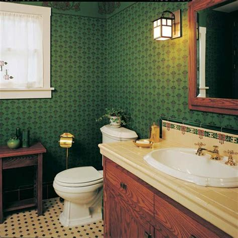 arts and crafts bathroom ideas modest arts crafts bungalow bathroom old house online
