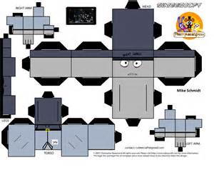 Papercraft Printable Templates by Fnaf Papercraft