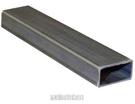 25mm aluminium box section rectangular hollow section steel 50mm x 25mm x 2mm