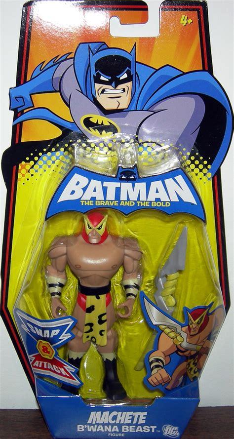 b wana beast figure machete bwana beast figure batman brave bold mattel