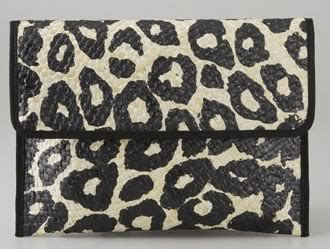 Animal Free Felix Jungle Leopard Print Clutch by Felix Jungle Basket Clutch Purseblog