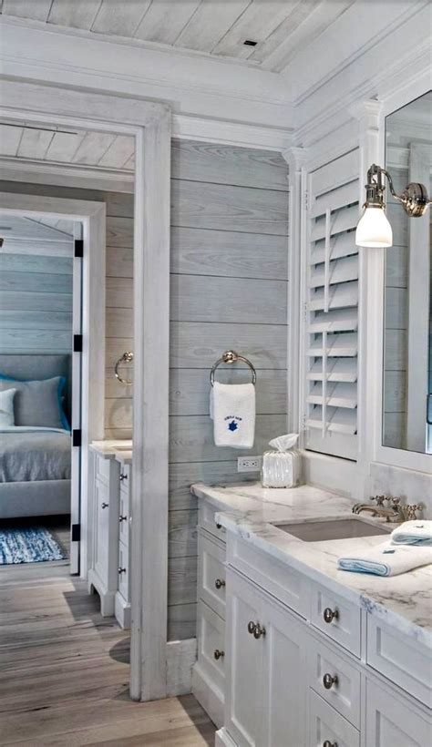 Gray Shiplap Wall 17 Best Ideas About Lake House Bathroom On