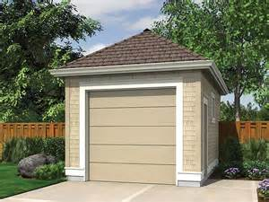 1 car garage plans single car garage plan 034g 0016 at