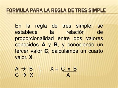 a la de tres 1540539490 regla de tres simple