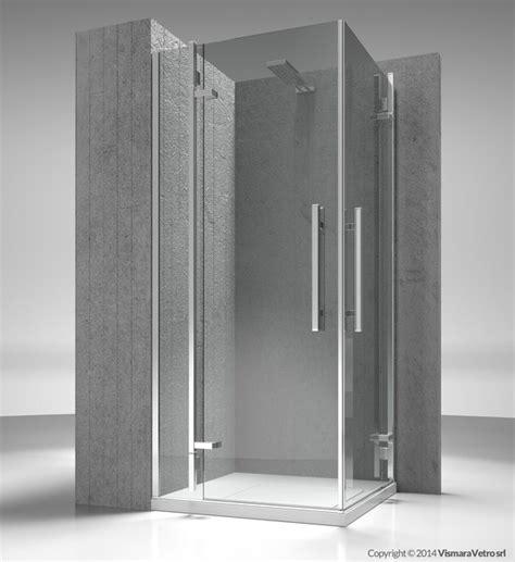 box doccia vismara prezzi box doccia angolare su misura in vetro temperato tiquadro